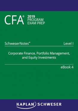 CFA 2019 Level 1 Schweser Notes Book+Quicksheet.zip
